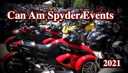 2021 CanAm Spyder & Ryker Events