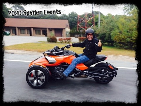 2020 Spyder Ryker Events