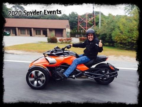 2020 Spyder Ryker Events